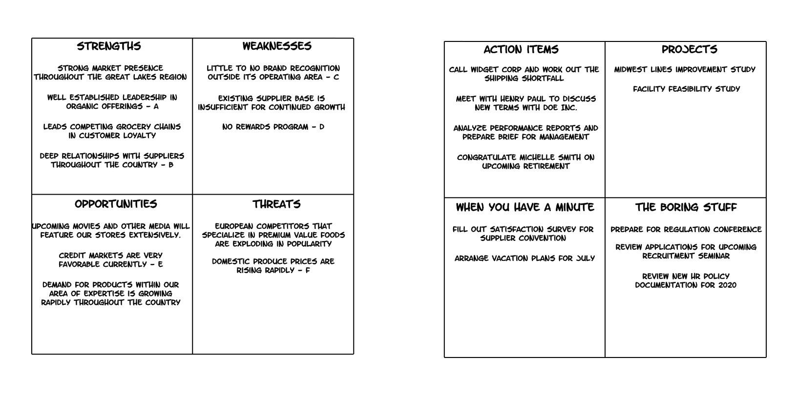 Workbook Spread Example