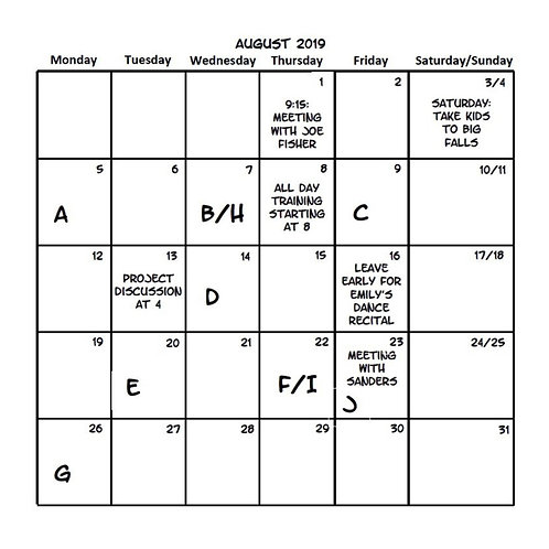 Calendar Multi-Pack