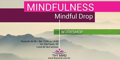 Workshop Mindful Drop - Event Brite art.