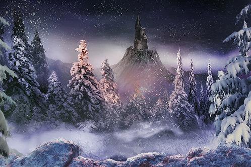 Snow Queen Background