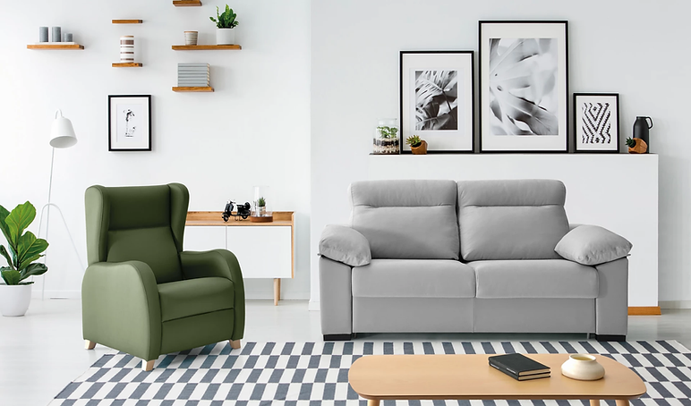 sofá cama económico Logroño
