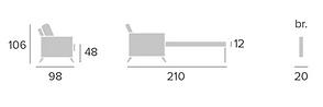 medidas sofá cama