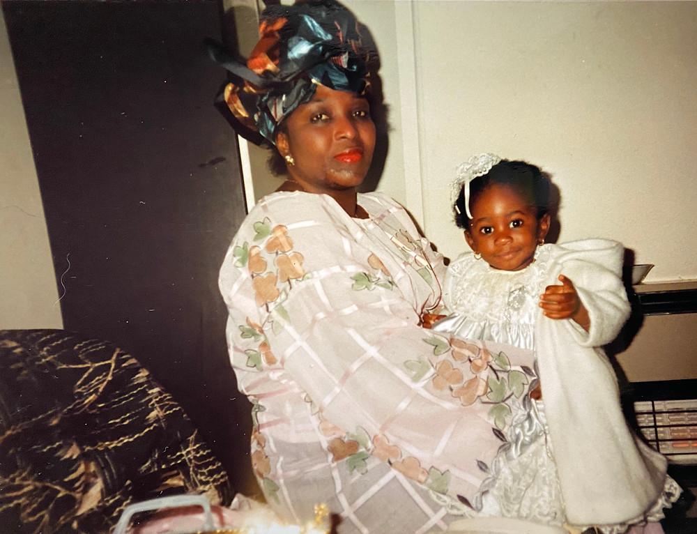 Grandma & I, London, 1988
