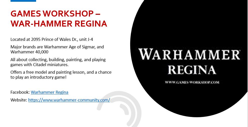 Warhammer Regina