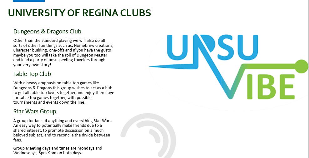 U of R Clubs