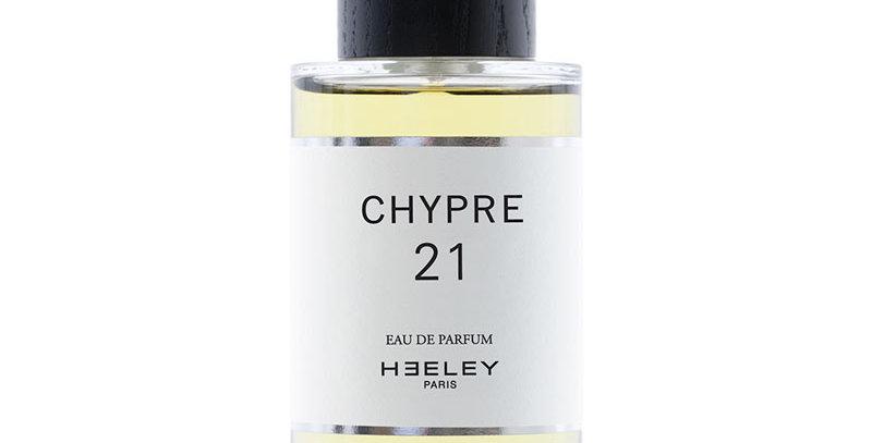 CHYPRE 21, HEELEY Parfums, French fragrance, Eau de Parfum, Niche perfume, Perfumery, citrus