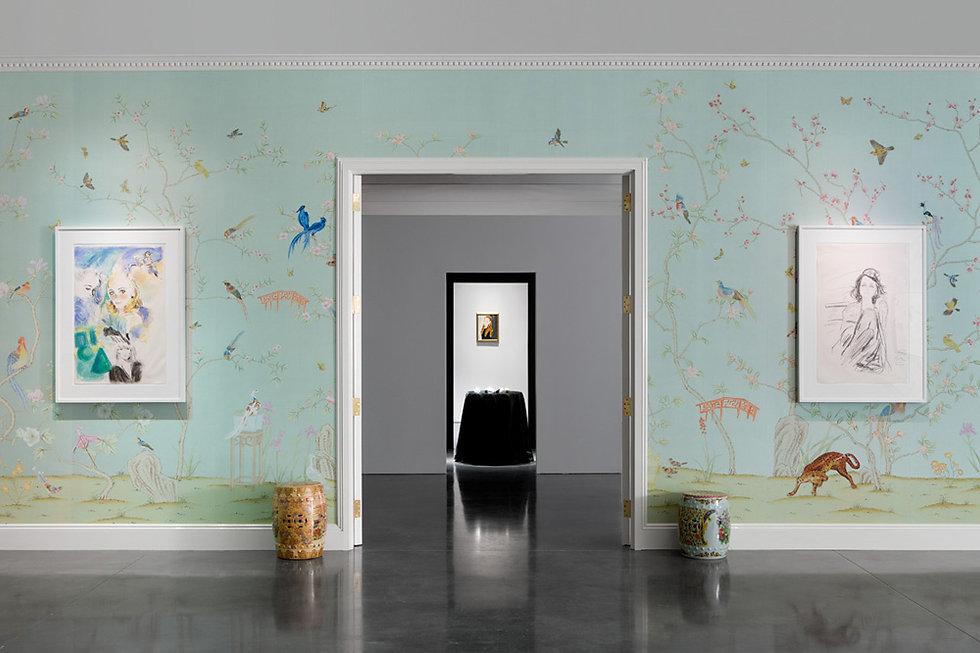 Paul Montgomery Studio has been creating high quality hand painted custom artwork, painted decor, murals and wallpapers | Marianske Lazne, Prague, Karlovy Vary | Refined Aesthete Showroom