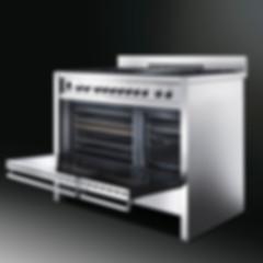 Freestanding cooker SMEG Linea, Cortina Linie, Victoria Linie, Luxury Cool, Dolce stil Novo | Refined Aesthete Design Atelier & Showroom | Marianske Lazne, Prague, Karlovy Vary