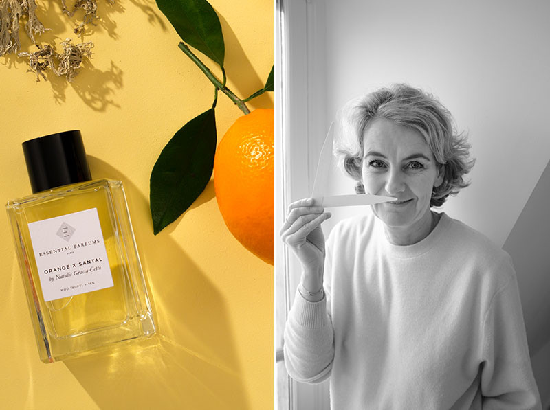Essential Parfums, Fragrance, Perfume, Paris, niche perfumery, french parfum, ORANGE X SANTAL, Natalie Gracia-Cetto