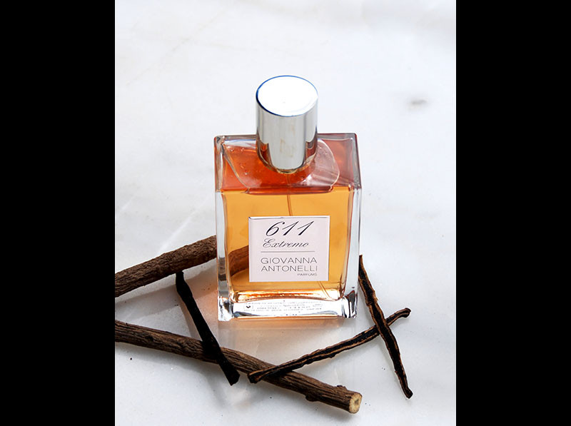 611 Extremo, Giovanna Antonelli parfums, Fragrance, Perfume, France, Niche perfumery