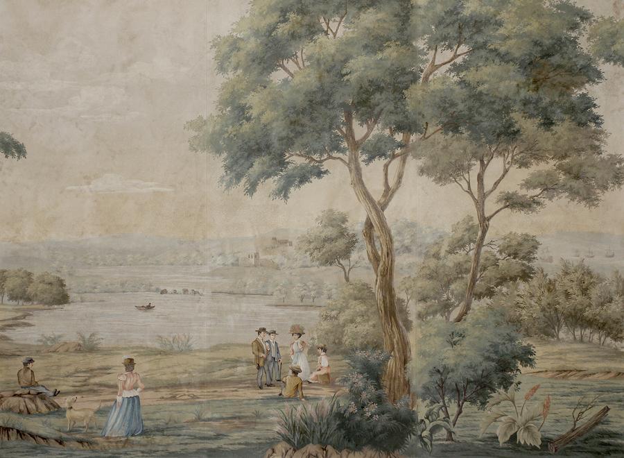 English Mural Paul Montgomery