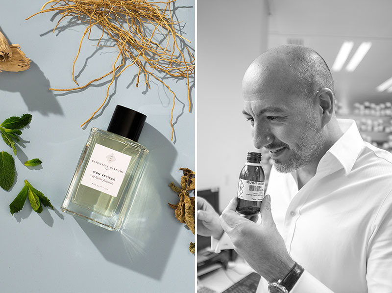 Essential Parfums, Fragrance, Perfume, Paris, niche perfumery, french parfum, MON VETIVER, Bruno Jovanovic