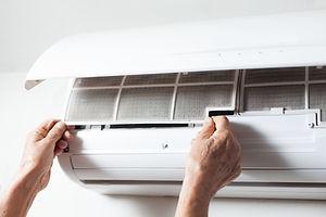 Klimaanlage fixieren