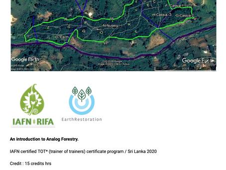 Introduction to Analog Forestry (AF) @ Belipola