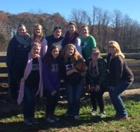 Tri-Sigma Sorority Adopts White Bird!