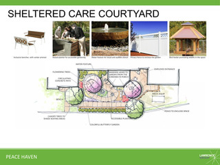 Sheltered Care Courtyard