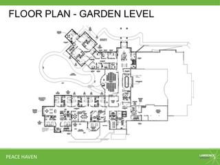 Floor Plan - Garden Level