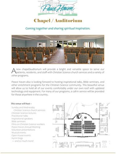 Chapel / Auditorium