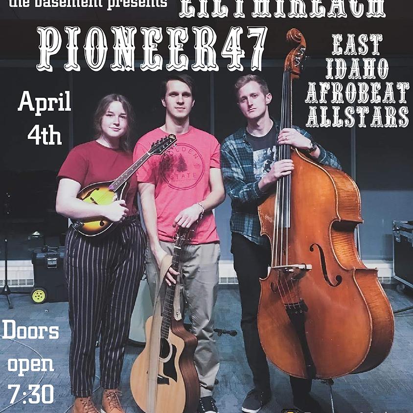 Pioneer47, Eilthireach, East Idaho Afrobeat Allstars