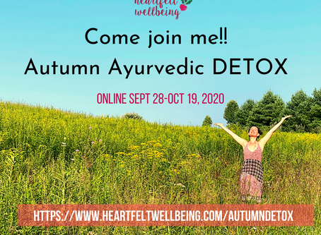 Detoxing - its time for a reset