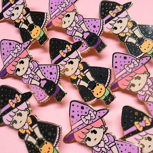 Little Witch Hard Enamel Pin