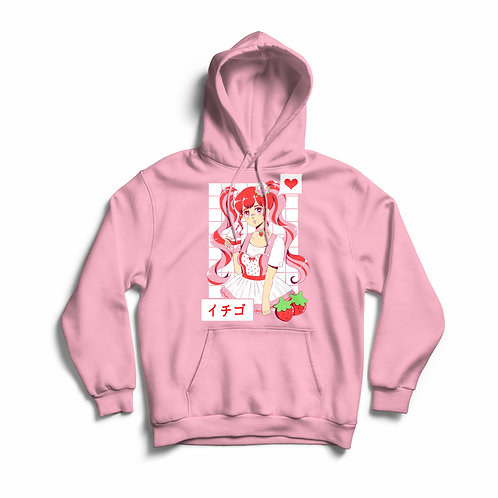 Strawberry Milk Baby Unisex Hoodie