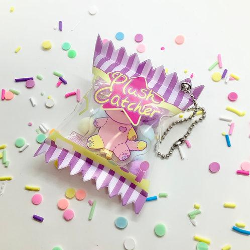 Crane Game Claw Machine Plush Catcher Acrylic Keychain Candy Charm