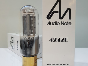 Audio Note (UK) 4300E (300B) and 4242E (211) valve released!