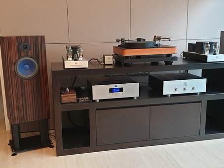 Customer's Audio Note Set Up with Dr. Feickert Blackbird,Reed 3Q Tonearm, Miyajima Cartridges