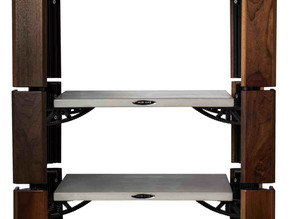 New Solid-Tech Hybic Wood Audio Rack