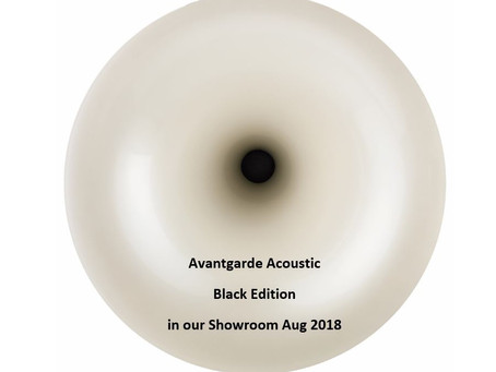 Psst … Avantgarde Black Edition will be here in August!