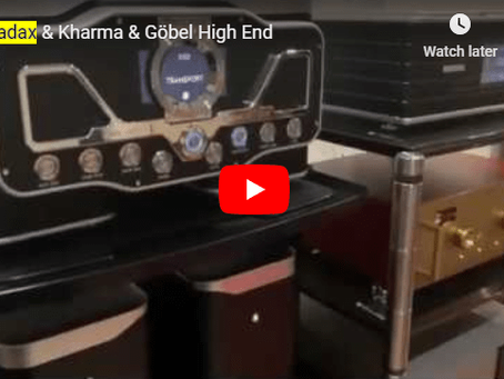 Video featuring Wadax Reference DAC and Atlantis Transport