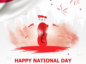 Happy 55th Birthday Singapore