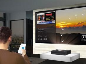 Optoma P1 4K UHD HDR Laser Cinema  Biggest 4K UHD HDR Smart Home Laser Cinema with Dolby Digital  2.