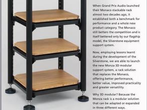 Grand Prix Audio New Monza 3D Modular Audio Rack
