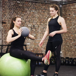 Personal training - core stability