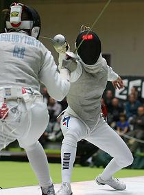 Sportfechten Wettkampf