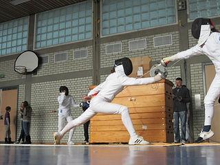 Sportfechten Florett Wettkampf