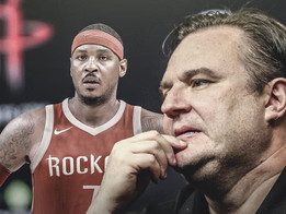 Are The Rockets Done With Carmelo Anthony?