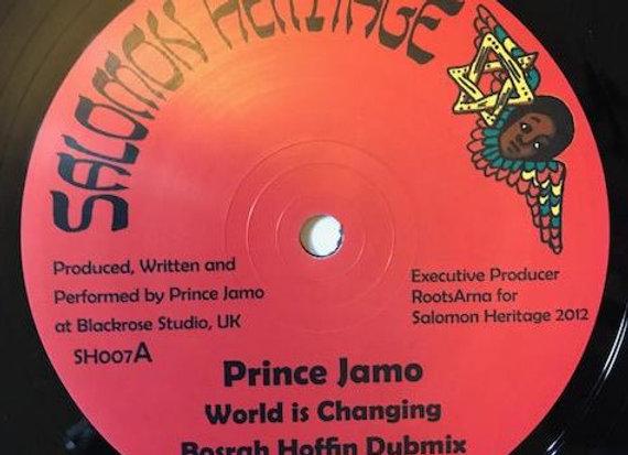 """Prince Jamo - WorldIs Changing/ Messenger D.- Praise Him (12"""")"""