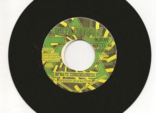 "Infinite Consciousness/Don Fe - Spanish Revolution/Desalojo Dub (vinyl 7"")"