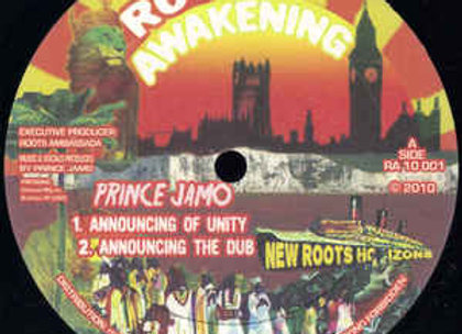 "Prince Jamo - AnnouncingOf Unity (Vinyl 10"")"