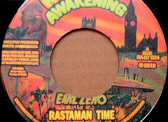 "Earl Zero - Rastaman Time (Vinyl 7"")"