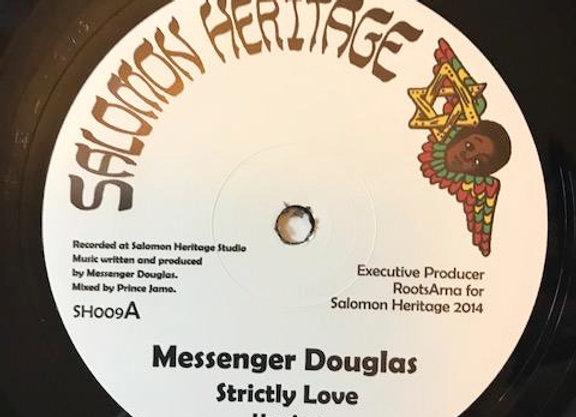 """Messenger D. - Strictly Love / Daba Makourejah - Soulful Revolution (12"""")"""