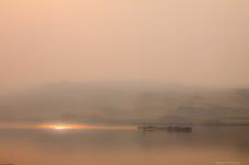 Sunset Barge