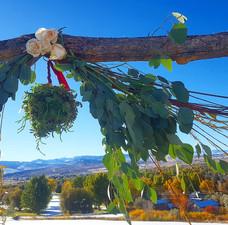 Brandi's Wedding Arch