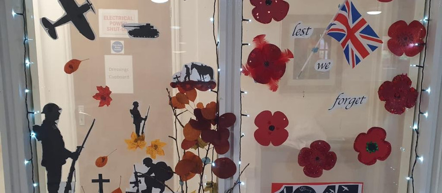 CARE HOMES MARK REMEMBRANCE DAY