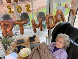 Sheffield care home resident celebrates 102nd birthday