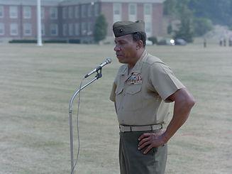Lt._Gen._Frank_E._Petersen_Jr._gives_his