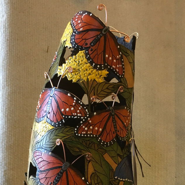 Gourd Art by Nora Graf